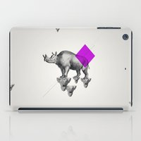 psychology iPad Cases featuring Archetypes Series: Solitude by Attitude Creative