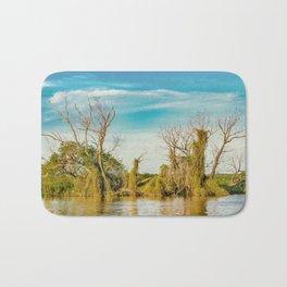 Parana River, San Nicolas, Argentina Bath Mat