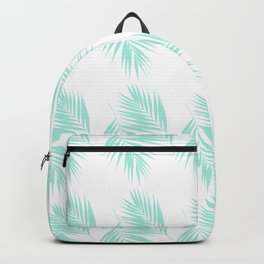 Palm Leaves Pattern #1 #Mint #decor #art #society6 Backpack