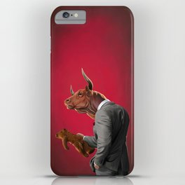 Bull iPhone Case