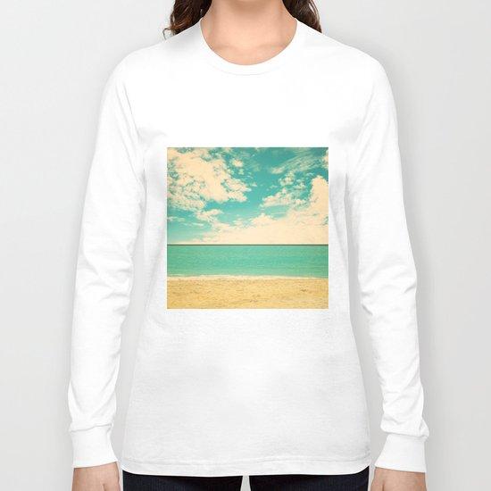 Retro Beach Long Sleeve T-shirt