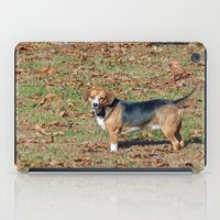 beagle iPad Cases featuring Beagle by Frankie Cat