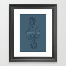 Consulting Detectives Framed Art Print