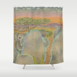 Solid Shower Curtain
