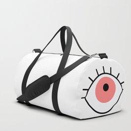 Red eye Duffle Bag