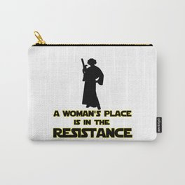 resist march for science Carry-All Pouch