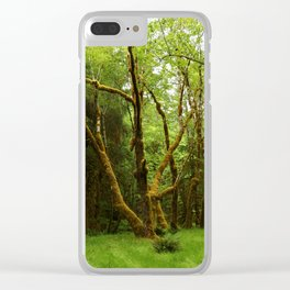 A Moos Laden Tree Clear iPhone Case