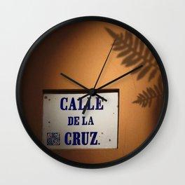 De la Cruz, Old San Juan Light Wall Clock