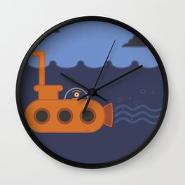 20 thousand leagues under the eye Wall Clock