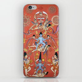 Hindu - Kali 7 iPhone Skin