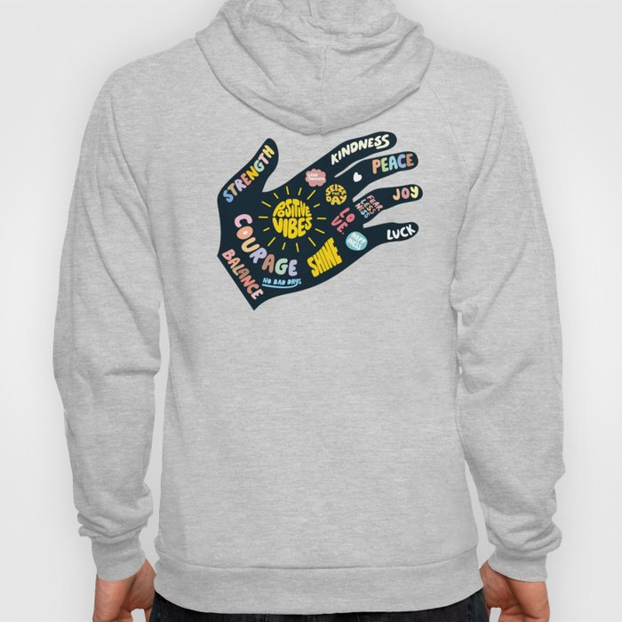 Positivity – Helping Hand Hoody
