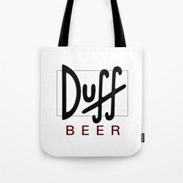 Duff Beer Logo Black Tote Bag