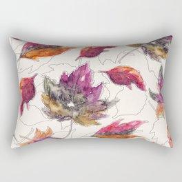 Maple Pattern Rectangular Pillow