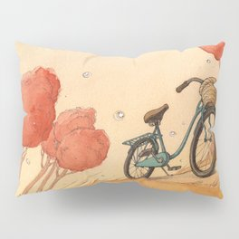 Lonely Bike Pillow Sham