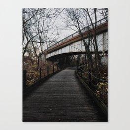 Woodplank Path Canvas Print