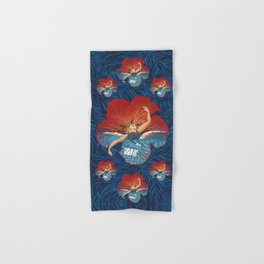 Hibiscus Flower Hand & Bath Towel