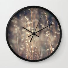 Sparkling Fairy Lights Wall Clock