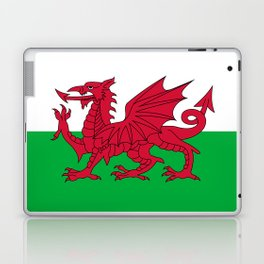 Welsh Flag Laptop & iPad Skin