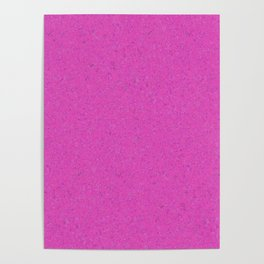 Magenta Abstract Watercolor Poster