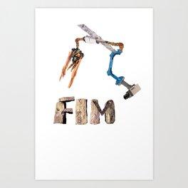 FIM SURVEILLANCE CAMERA Art Print