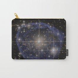Blue Bubble Nebula Carry-All Pouch