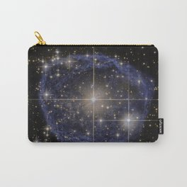 Blue Bubble Nebula Carry-All Pouch