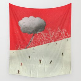 Dawn on the Slope Wall Tapestry