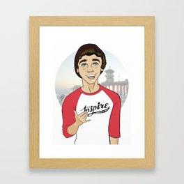 Team Inspire-Keaton Framed Art Print