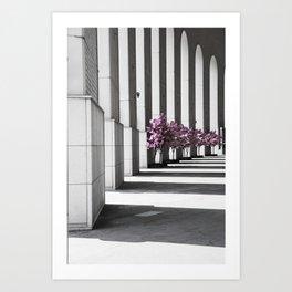 Shanghai lines Art Print