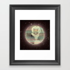we leave no one behind  Framed Art Print