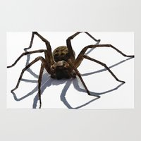 spider Area & Throw Rugs featuring SPIDER by aztosaha