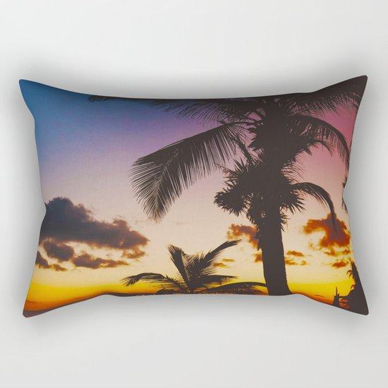 Palm Spring Rectangular Pillow