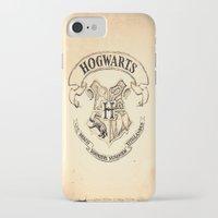 hogwarts iPhone & iPod Cases featuring HOGWARTS by ''CVogiatzi.