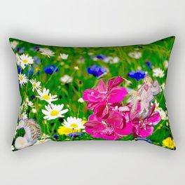 Embraced by Life Rectangular Pillow