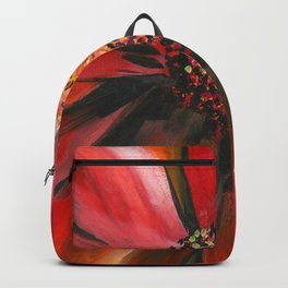 Pink Cone Flower Backpack