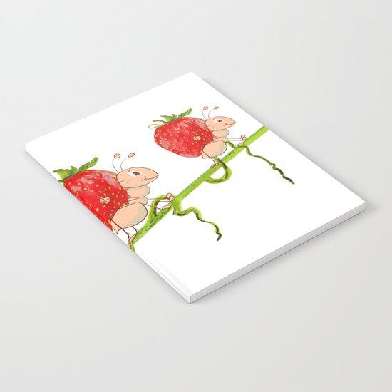Strawberry Notebook