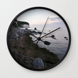 Jasmund Bay - Sunset - Isle Ruegen Wall Clock