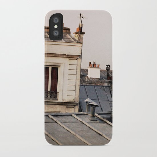 Paris Rooftop #1 iPhone Case