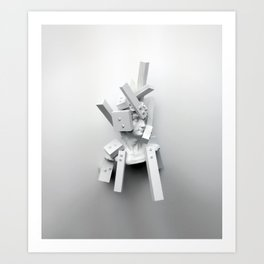 From The Perspective of Accumulation Art Print
