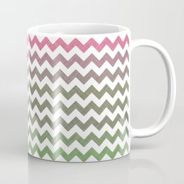 Pink Roses in Anzures 3 Chevron 2T Coffee Mug