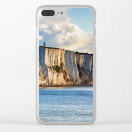 Cretaceous rocks of Dover Clear iPhone Case
