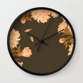 Shadow Veil Copse Wall Clock