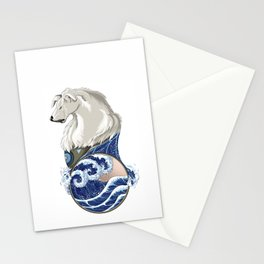 Naga with Water Symbol Stationery Cards