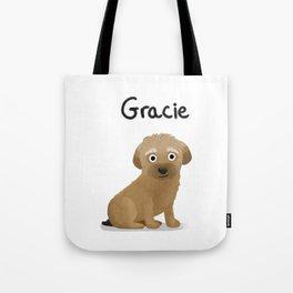 """Custom Artwork, """"Gracie"""" Tote Bag"""