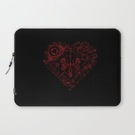 Robotic Heart Laptop Sleeve