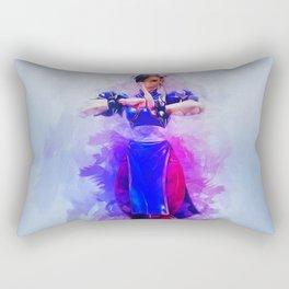 Chun Li Rectangular Pillow