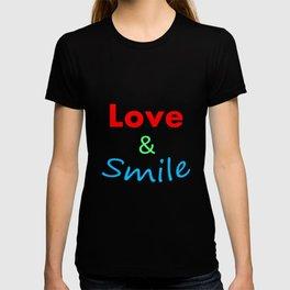 Love & Smile T-shirt