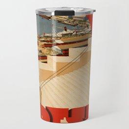 Vintage poster - Odessa Travel Mug
