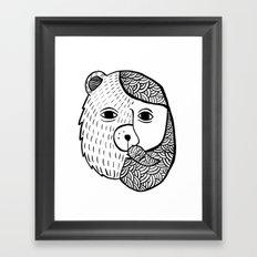 Werebear Framed Art Print