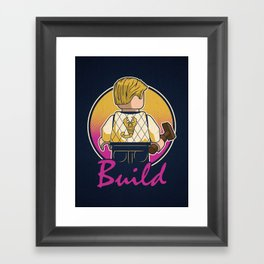 A Real Mini Hero Framed Art Print